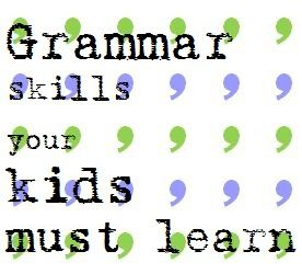 Grammar skills your child must learn {via In Our Write Minds}