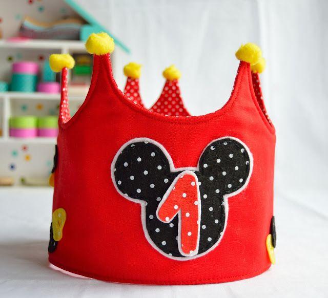 Corona de Michey Mouse mega Hiper Xuli!