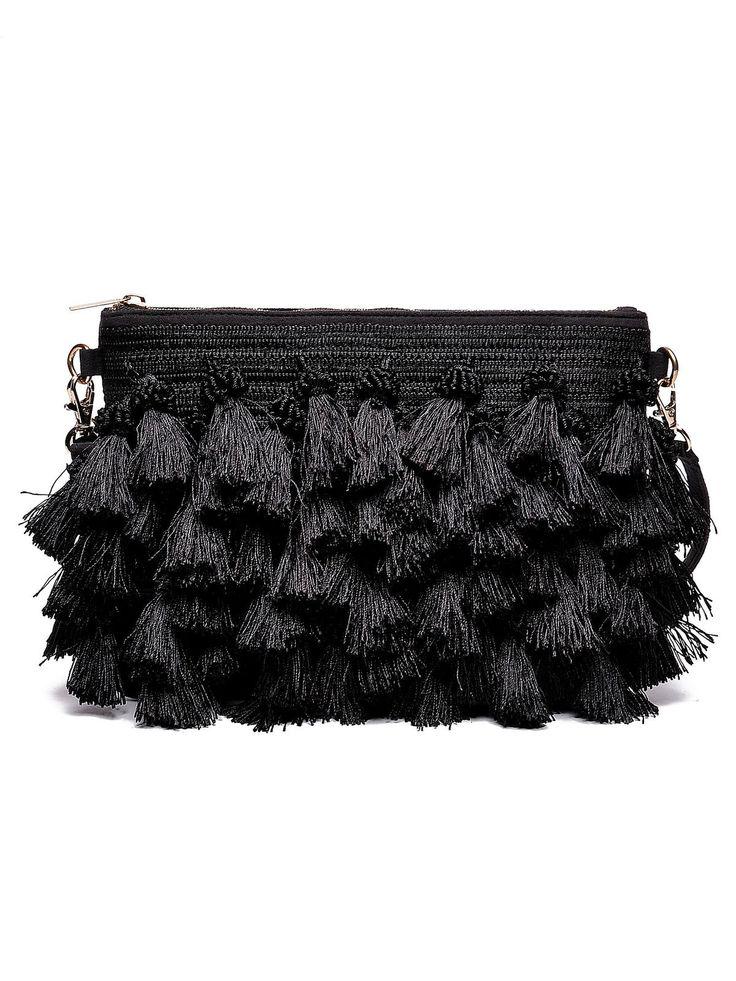 Top Secret black bag casual fringes