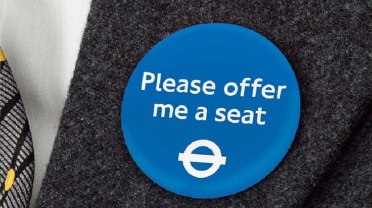 London is trialling a discreet method for disabled passengers to ask for seats on public transport
