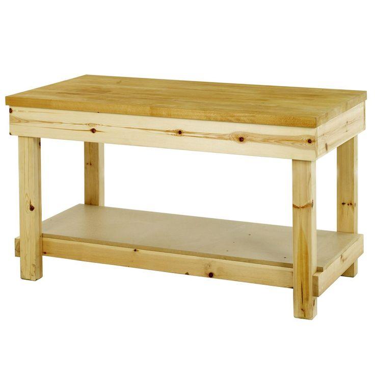 17 best ideas about wooden work bench on pinterest. Black Bedroom Furniture Sets. Home Design Ideas