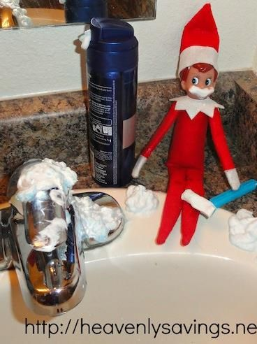 75 Elf on the Shelf ideas @Kelly Teske Goldsworthy frazier Carnes