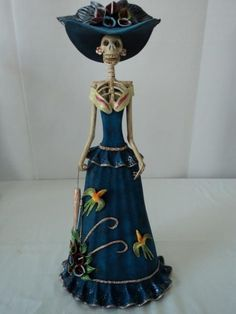 Image result for catrina mermaid pottery