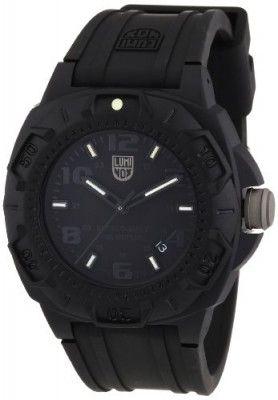 Relógio Luminox Men's 0201.SL Black Carbon-Reinforced Watch #relogio #luminox
