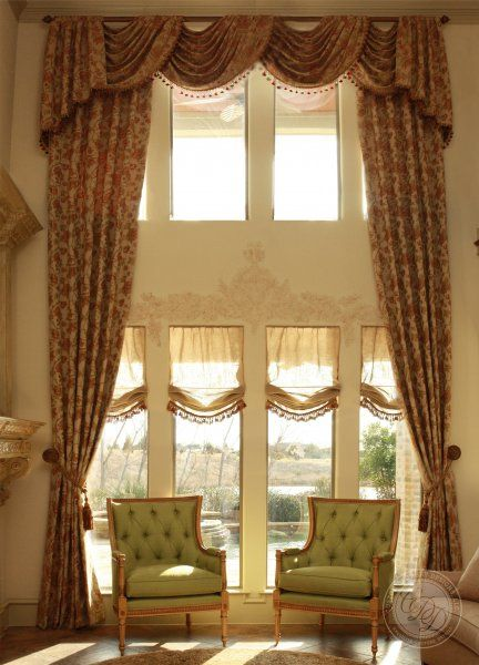 1000 images about two story windows on pinterest high High ceiling window treatments