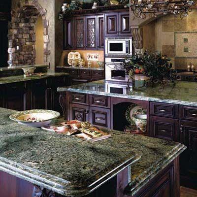 Purple kitchen decor ideas for the home. I love the slate grey countertops
