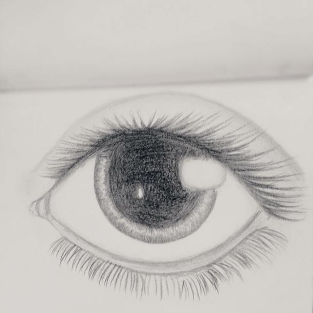 An eye my friend drew: Friends Drew, My Friends