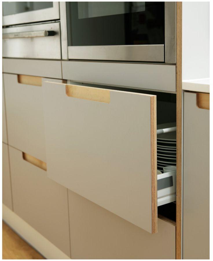 Diy Plywood Kitchen Cabinet Doors: 391 Best Images About Campervan On Pinterest