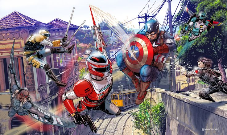Winspector vs team captain America