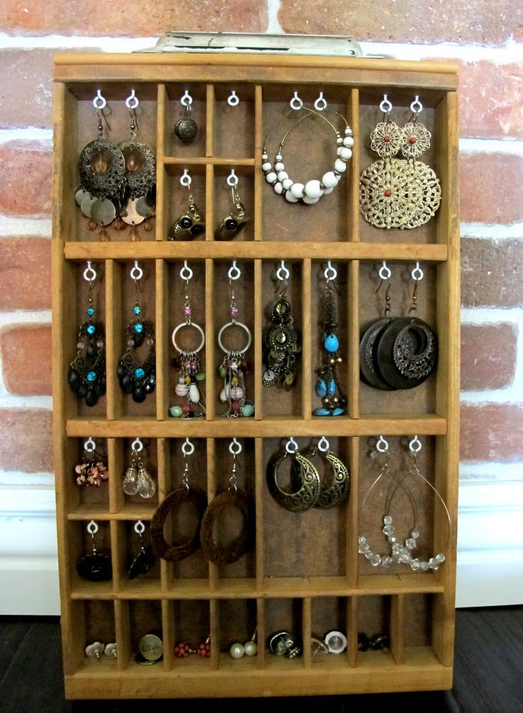 122 Best Images About Diy Jewelry Boxes And Organizers On