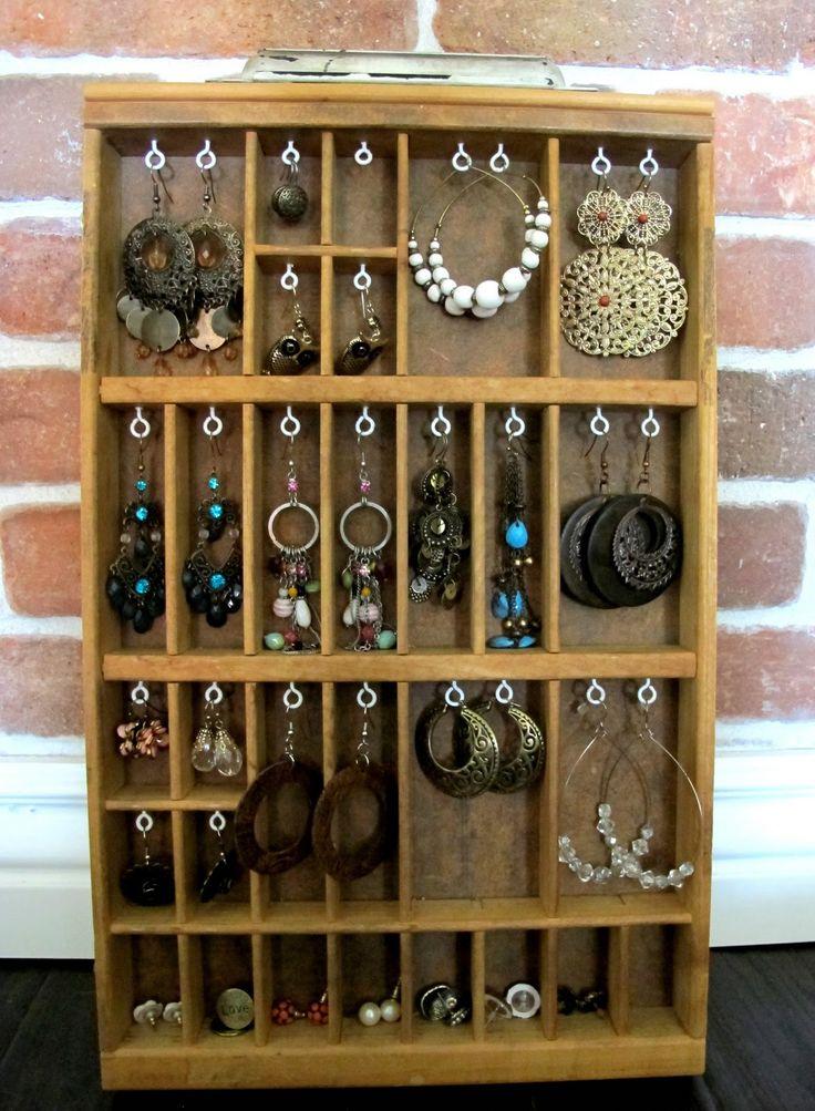 Fabulous storage for earrings - jewelry