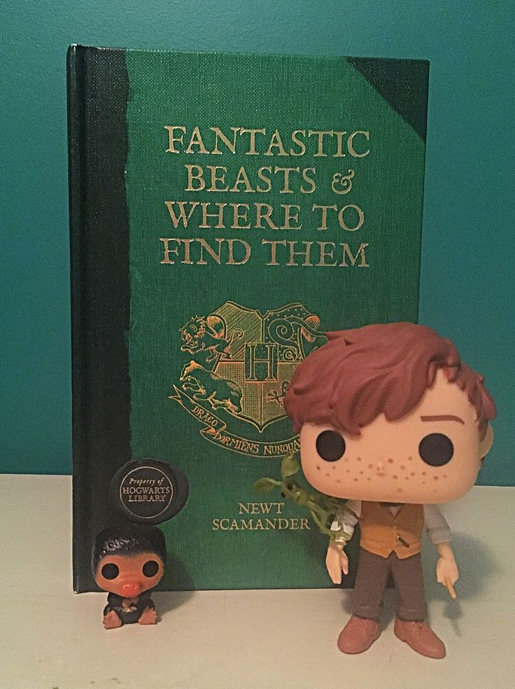 """Here's a picture of my small but mighty gang from Fantastic Beasts. Even got my """"Eddyfied"""" Newt pop:)"""