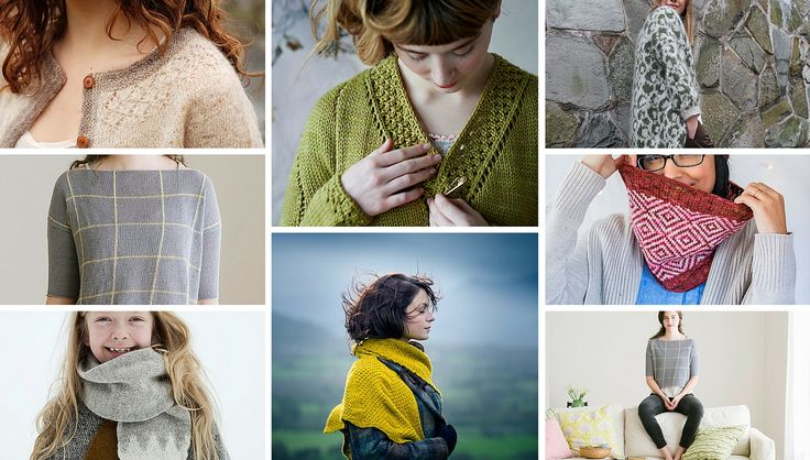 My gorgeous selection of new knitting patterns added to ravelry this week in my post Unraveling the week - two