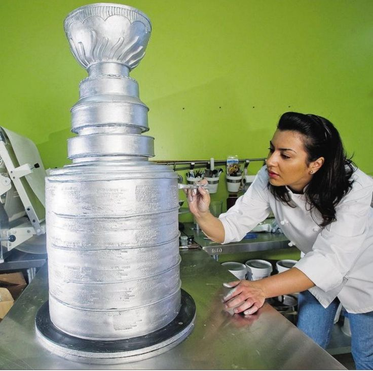 25+ Best Ideas About Stanley Cup Cakes On Pinterest