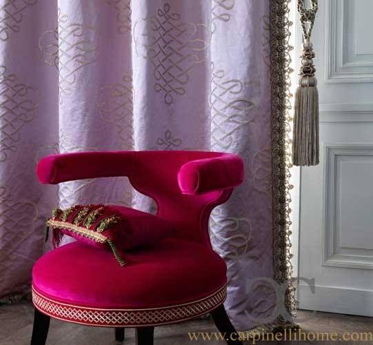 #poltrona #decorazione #tessuti