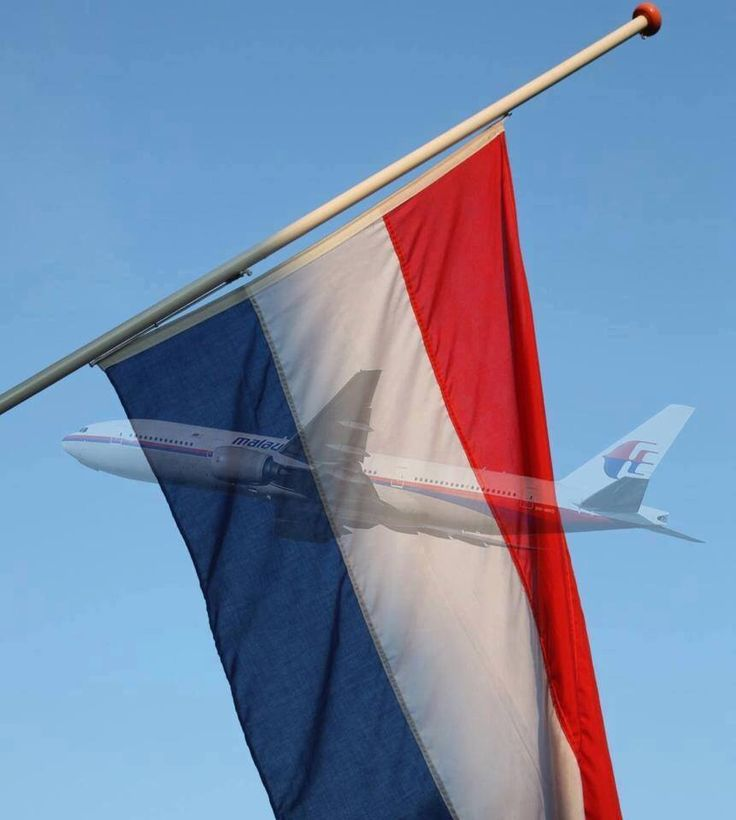 Vlag Halfstok, Slachtoffers MH17.