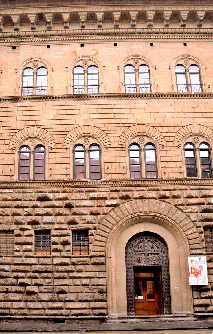 Palazzo MediciRiccardi (Facade detail), 144459, Florence