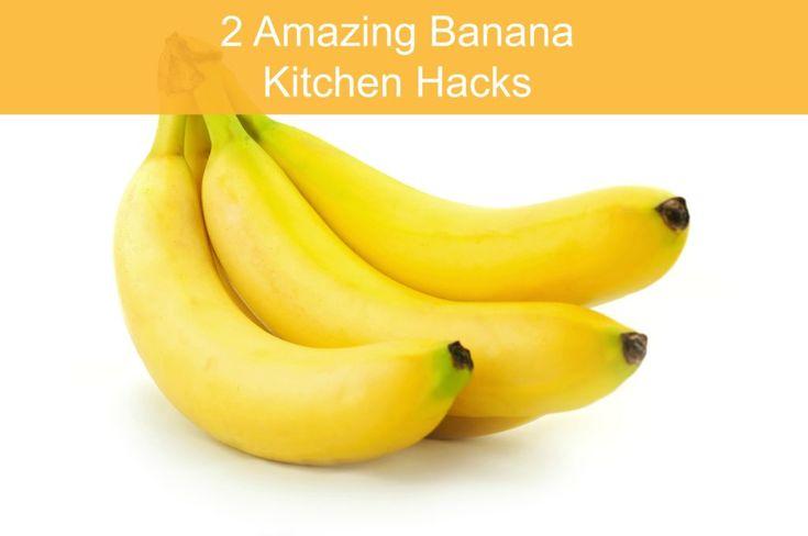 2 Kitchen Hacks for Storing Bananas