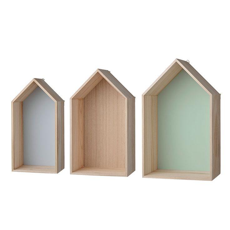 Houses Display Hylla, 3-Pack, Bloomingville