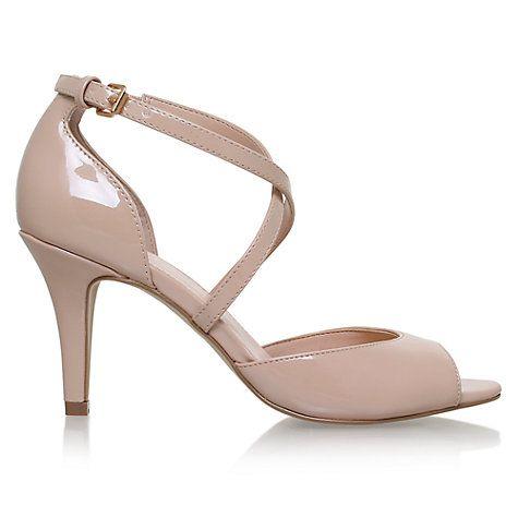 Buy Carvela Koko Cross Strap Heeled Sandals Online at johnlewis.com
