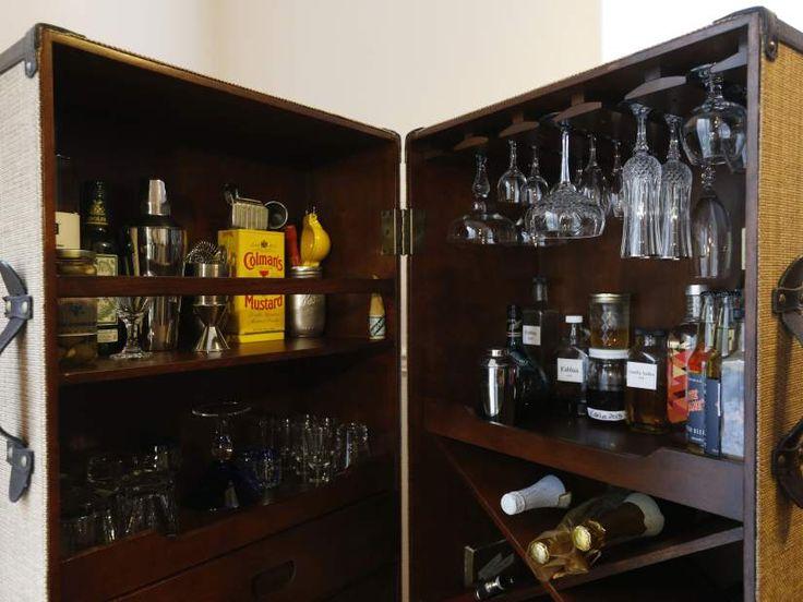 how to build a tardis liquor cabinet