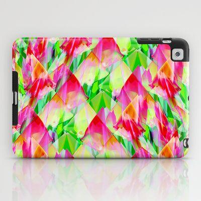 Tulip Fields #119 iPad Case by Gréta Thórsdóttir - $60.00