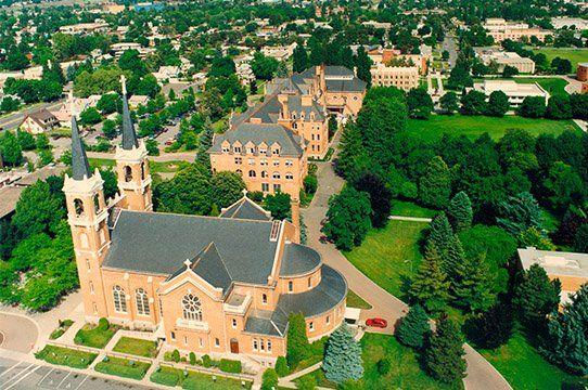 Gonzaga University's St Aloysius Church