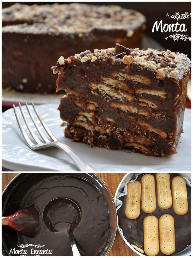 Para sobremesa, uma delicioso Bolo Torta de Palha Italiana, que vai parecer que…