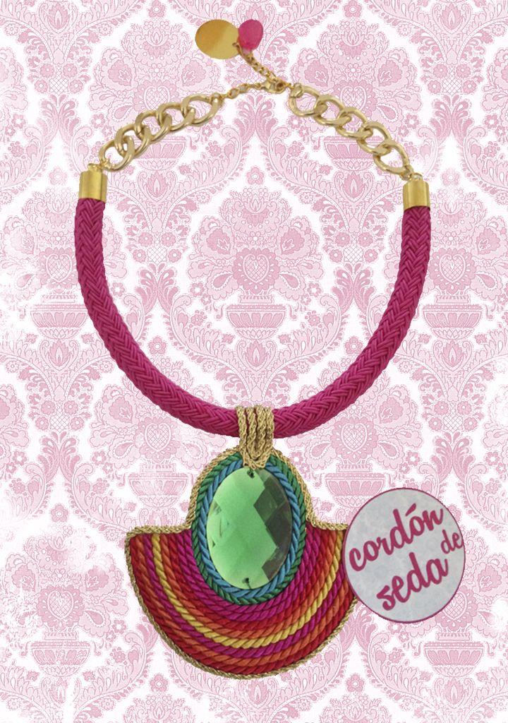 Diseño cordon de seda disponible en CORDONDESEDA.ES