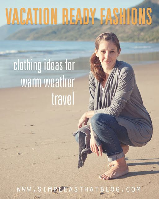 Vacation ready fashion ideas from www.simpleasthatblog.com. #travel #fashion