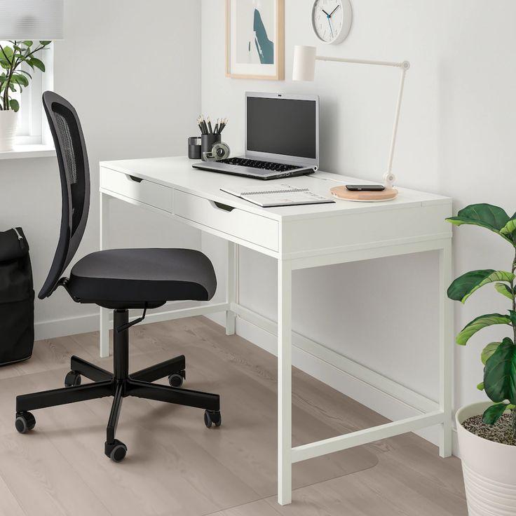 Alex desk white ikea in 2020 alex desk ikea alex