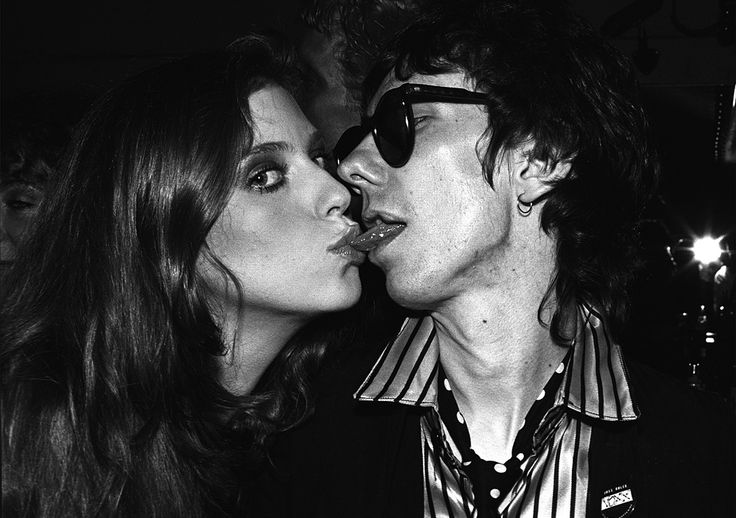 Bebe Buell And Stiv Bators At Fiorucci's 1978 by Brad Elterman