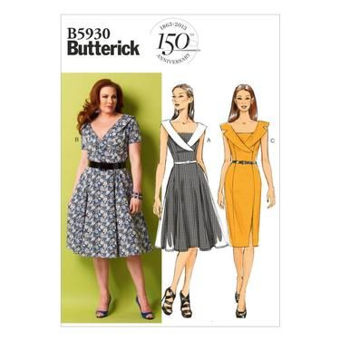 Butterick B5930 Women's  Petite Dress