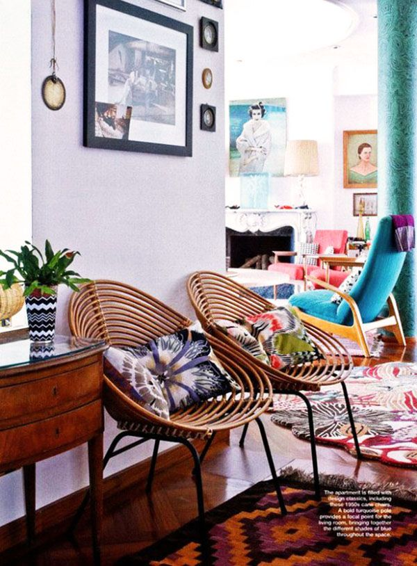 eclectic want these chairs - Eclectic Apartment Ideas