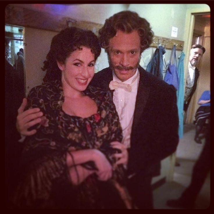 "Laird Mackintosh via Instagram - 10 Oct 2015 - ""Saturday Night on Broadway just before #donjuan with @rachelzatcoff photobomb by #CraigBennett @phantombway #phantomoftheopera #broadway #nyc"""