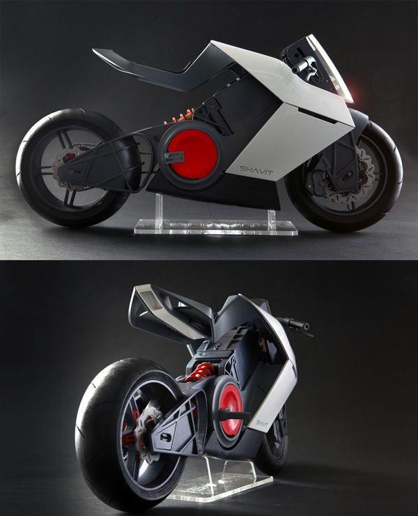 Shavit electric sport motorcycle
