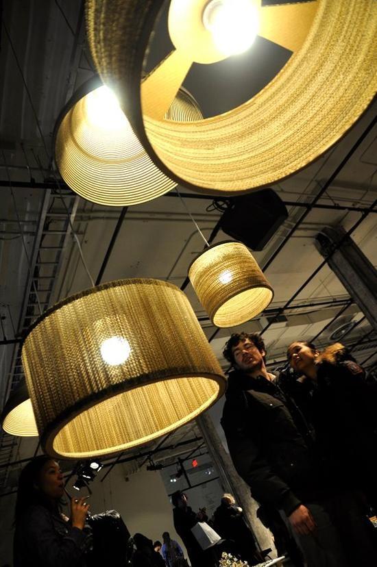 Lampes en carton