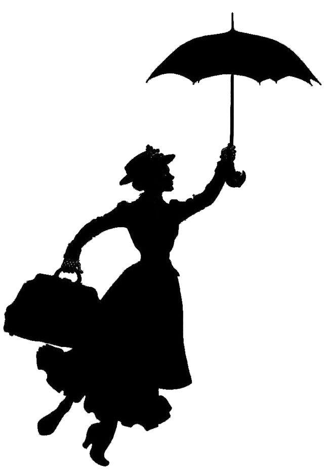 Mary Poppins Stencils on Stencil Revolution