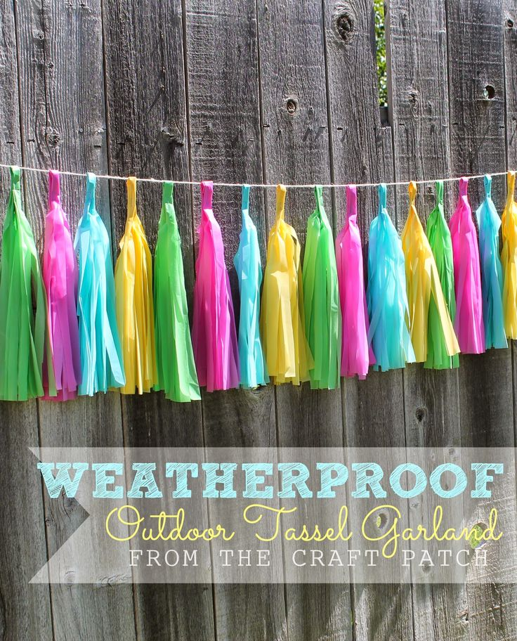 Have you seen the cute tissue paper tassel garlands popping up around blogland? I think they are adorable! I've got a very special birthd...