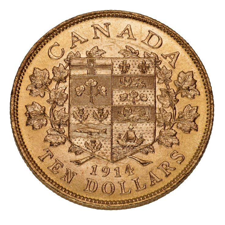 Canada's First Gold Coins - $10