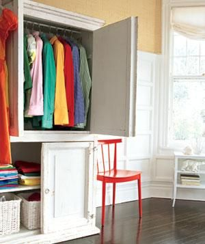 Storage spaces extra storage and bedrooms on pinterest for Extra closet storage