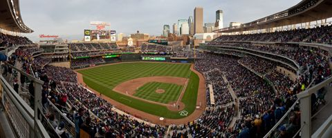 Target Field...Home of the Twins