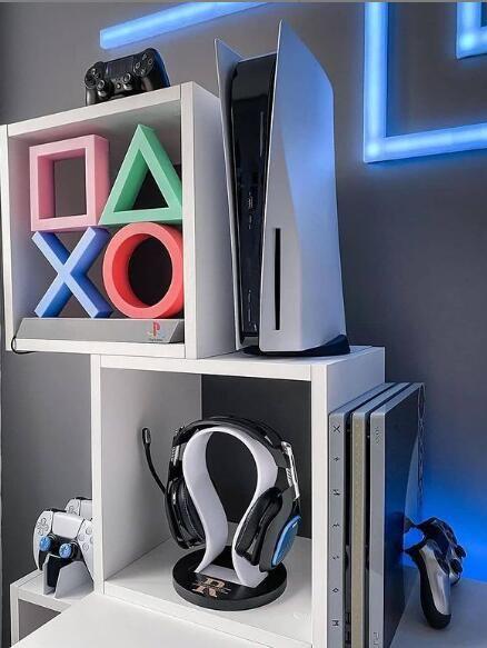 Bedroom Setup, Room Ideas Bedroom, Bedroom Decor, Computer Gaming Room, Gaming Room Setup, My New Room, My Room, Gamer Room, Nerd Room
