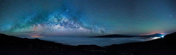 Галактика Млечный Путь на Гавайских островах