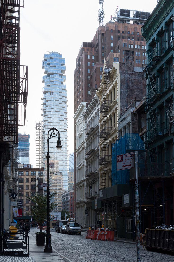 Башня 56 Леонард-Стрит на Манхеттене — HQROOM