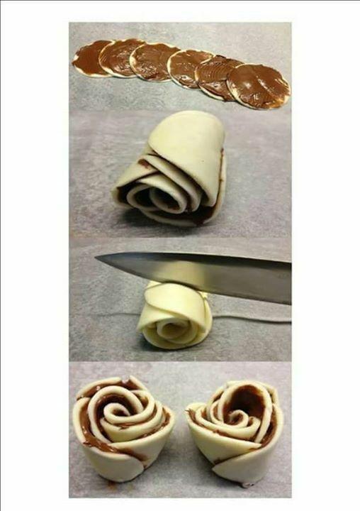 Çikolatalı gül kurabiye     tuzlusu mayalı hamurdan haşhaşlı olabilir