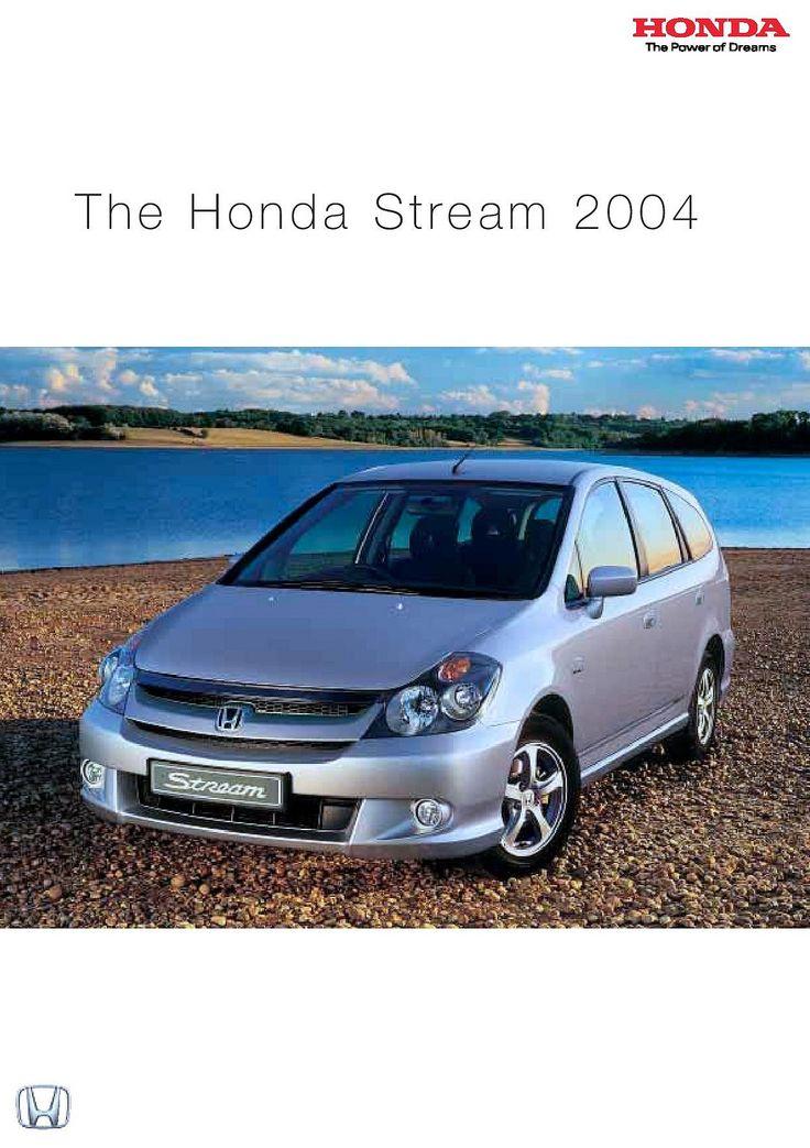 Honda Stream Mk1 UK Brochure 2004