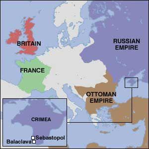 1854 – Crimean War: The United Kingdom declares war on Russia.  The Crimean War was the precursor to the U.S. Civil War!!