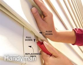 Cracked or broken vinyl cladding is no reason for despair. A simple $5 tool gets the job done in 15-minutes. This article also includes some useful tips on how to get the best match possible for your original siding.
