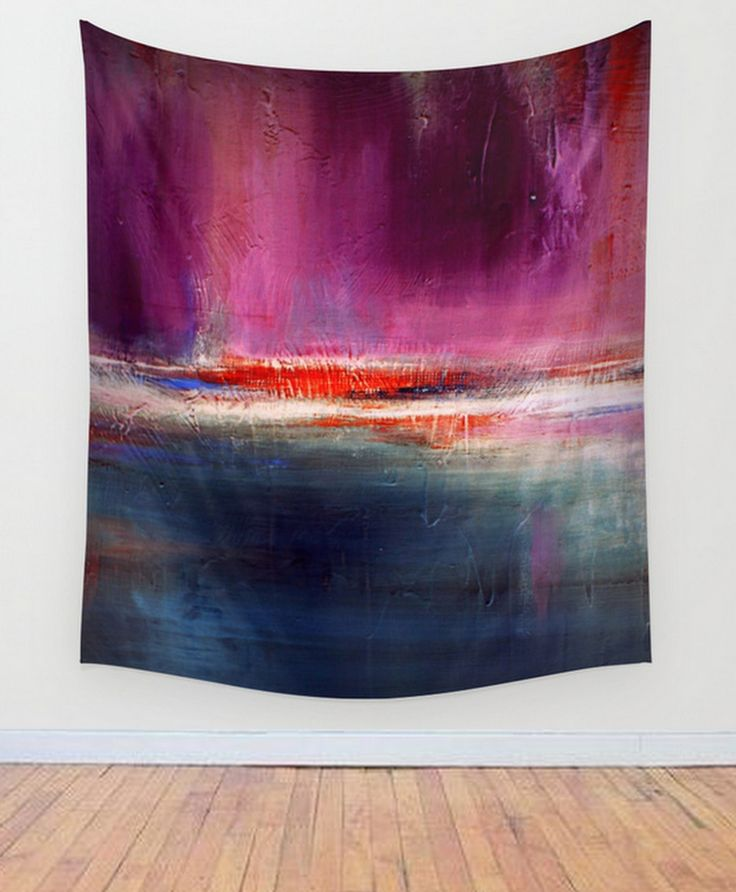 Romance – Purple and Blue Wall Tapestry– Luxe Wall Decor